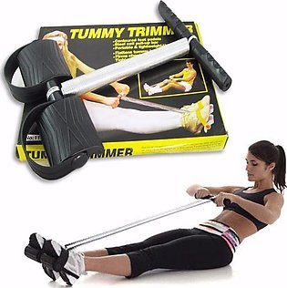 Single Spring Tummy Trimmer Pull Up Exerciser Belly Slimming Rowing Weight Loss…
