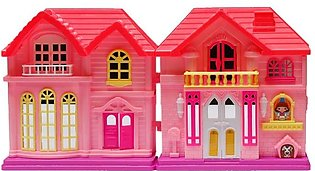 Doll House with Accessories - Multicolor