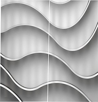 Heterosexual White Lines 170X200CM Window Curtains for Home Bedroom Decoration