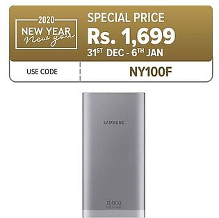 Samsung Original 10,000 mAh POWER BANK - 1-Year Siccotel Warranty