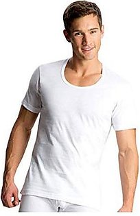 Pack Of 5 100% Pure Cotton Vest For Men Banyan Sleeves Less White Men Inner Wear For Boys