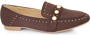 Hush Puppies - SS-MS-0059 - Coffee Closed Casual for Women