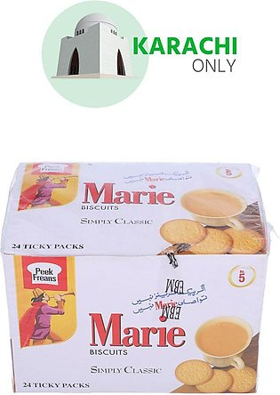 Peak Freans Marie Biscuits Simply Classic 24 Ticky Packs