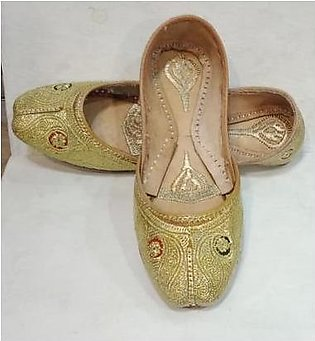 Hand Made Pure Leather Multani Khussa for girls and women