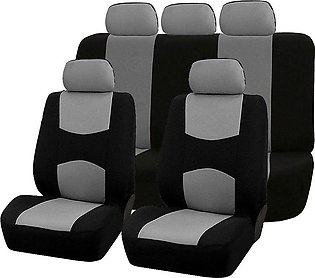 XINQIUS 9PCS Automobiles Seat Covers Full Car Seat Cover Universal Fit Interior…