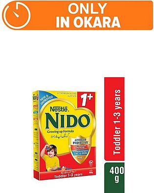 Nestle NIDO 1+ 400g - Growing Up Formula (One day delivery in Okara)