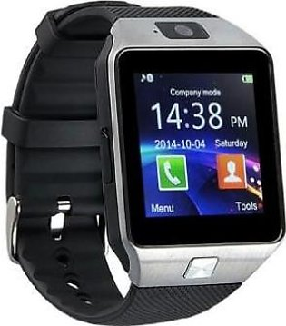 Android Smart Watch BLACK  With Bluetooth For IOS And Android