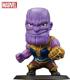 Marvel Avengers Endgame Thanos Action Figure Collectible, Car Decoration Bobble Head Doll, 5.5 Inches
