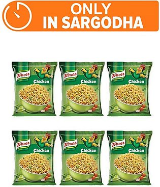 Knorr Noodles Chiken pack of 6 (One day delivery in Sargodha)