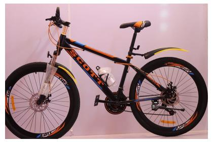 Scoot Trek Mountain Bike 26 Inches, Disc Brakes 21 Gears Made in Japan