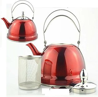 Stainless steel teapot coffee pot with filter