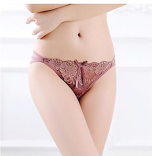 Briefs Panty for Girls - Lace Women Stylish Panties Underwear - Ladies Panties - Ladies Undergarments - Net Panties