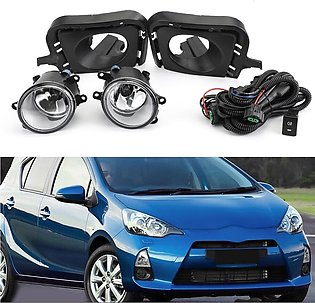 Fog Light With Wiring+Switch For Toyota Aqua 2012