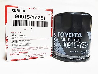 Toyota Oil Filter For Toyota Corolla 2006-2018 Part No. 90915-YZZE1