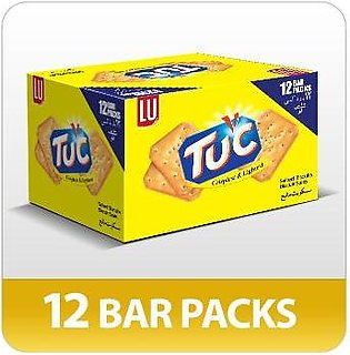 TUC Crispiest and Lightest Snack Biscuits (Pack of 12)