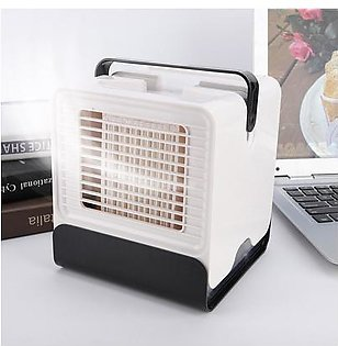 USB Mini Portable Air Conditioner Fan Negative Ion Air Cooler for Office Home