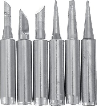 6PCS Lead-free Soldering Iron Tips Replacement Kit 900M Rework Station Tool