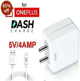 Original Oneplus 6T Dash EU Plug 5V - 4A Fast Charging USB Interface Wall Charg…