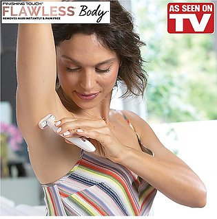 Flawless Beauty Electric Lady Shaver Razor Flawless Body Hair Shaver Painless B…