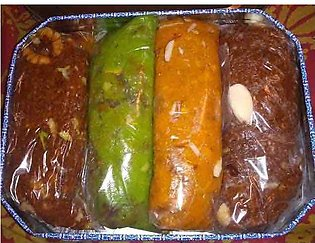 Rewari Sohan Halwa - Multan - 4 flavours of your own choice - 1kg Special Soghat