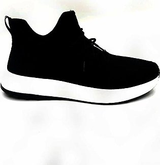 Black Lifestyle Sneakers For Unisex
