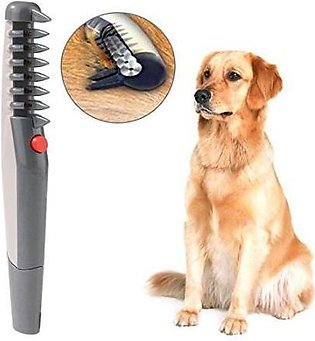 Electric Pet Grooming Comb Hair Trimmer Knot Out Remove Knots And Tangles For...