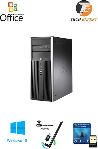 HP 8200 Computer Gaming PC Tower Intel Core i3 2nd Gen 3.1GHz 8GB, 1TB Win 10 W…