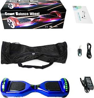A 6.5 Inch Skateboard Hoverboard Two Wheels Self Balance E-Scooter Hover Board