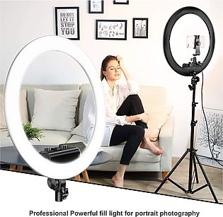 36 CM Ring Light 288 LED Dimmable For Tiktok and Youtube Videos and Live Photog…