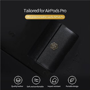 Nillkin Leather Case for AirPods Pro Luxury PU Flip Magnetic Back Cover Bags ...