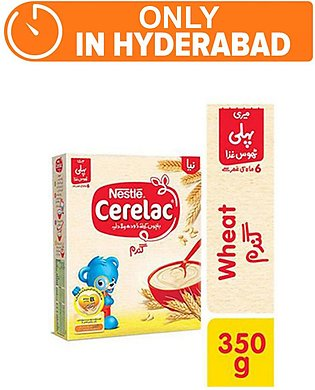 Nestle CERELAC Wheat 350g - Baby Food (One day delivery in Hyderabad)