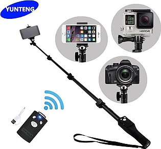 Selfie Stick Tripod Stand Extendable Monopod with Bluetooth remote