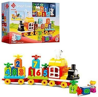 Smoneo - Smart Lines Train with large parts - 63 Pcs - Model 77003
