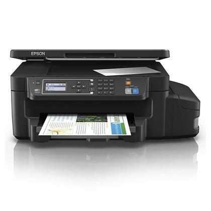 EPSON PRINTER L605 ALL IN ONE INK TANK SYTEM(PRINTER,COPY,SCANNER, LAN/WIFI, WIFI-DIRECT) (4 COLOR)