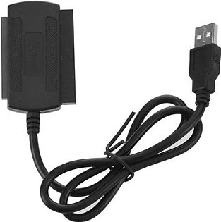 USB 2.0 To IDE SATA Adapter Cable For 2.5/3.5 Inch Hard Drive Disk Converter