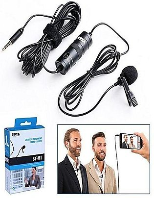Boya Mic BY-M1 - Omnidirectional Lavalier Microphone for all Devices, Boya Mi...