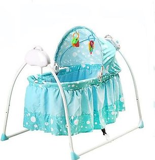 Imported Baby Cradle Electric Swing - Beige