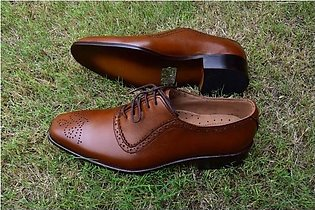 Oxford Style Shoes  - Brown