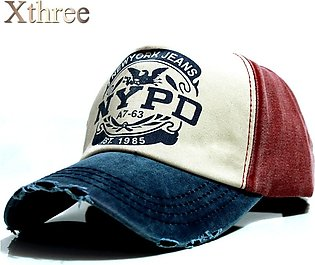 xthree wholsale brand cap baseball cap fitted hat Casual cap gorras 5 panel hip…