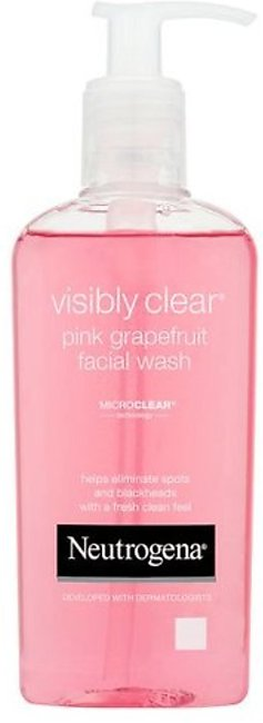 Neutrogena Face Wash Pink Grape Fruit 200ML (One Day Delivery in Gujrat)
