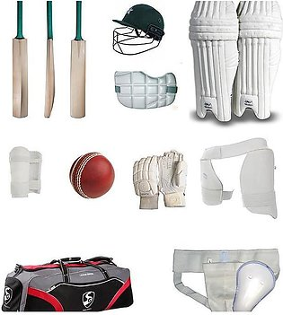 Hard Ball Complete Cricket Kit and All Cricket Accessories