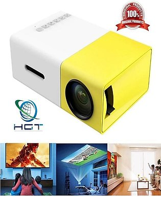 Projector Usb Hdmi Av Sd Mini Portable H D Led 1080 P Home Theater (R)