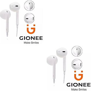 Super Bass Gionee Earphones Handsfree With Microphone 3.5mm Jack For all Smart …