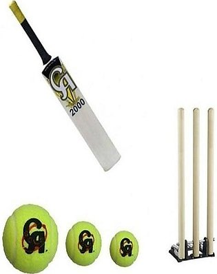 CA Sports Pack of 5 Cricket Kit - Multicolour