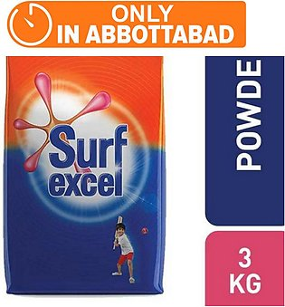 SURF EXCEL DETERGENT 3 KG (One day delivery in Abbottabad)