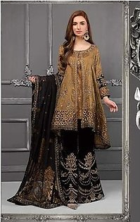 Khawateen Corner 1 Wedding Dress Full Embrody Unstittched