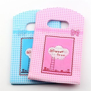 50pcs 9x15cm Multi Designs Plastic Bags Gift Bag Jewelry Nuts Candy Packaging B…