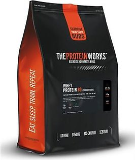 The Protein Works Whey Protein 80 - 2 kg (4.4 lbs) - Chocolate Silk