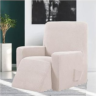 Waterproof Stretch Stool Set Soft Elastic Cover for Wingback Chair Sofa