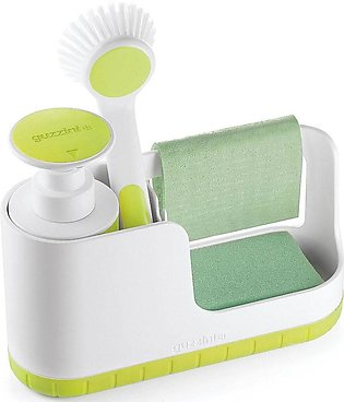 My Kitchen Sink Tidy Caddy With Soap Dispenser, 7-1/2-Inches